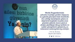 Prof. Dr. Ali Erbaş on Twitter: