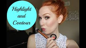 hightlight and contour for fair skin