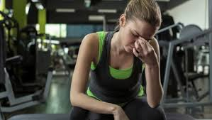 can too much exercise make you sick