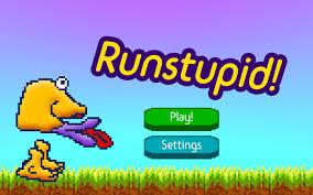 runstupid a stupid fun arcade game