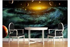 Modern Beautiful Fantasy Universe Space Photo Wall Murals Wallpaper Living Room Kids Bedroom Background Wall Home Decor Black Wallpaper Blue Wallpaper From A378286736 8 96 Dhgate Com