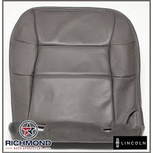perforated leather seat cover
