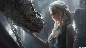 daenerys targaryen dragon hd wallpaper
