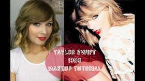 taylor swift 1989 make up tutorial