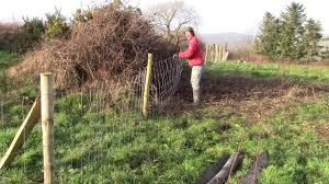 How To Put Up Sheep Fencing Wire Easily Without A Strainer Youtube