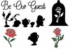 Disney Beauty And The Beast Belle Rose Vinyl Window Car Decal Sticker Children S Bedroom Cars Decor Decals Stickers Vinyl Art Home Garden