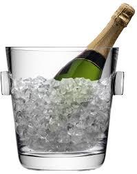 lsa madrid champagne ice bucket glass