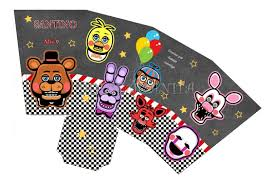 Kit Editable Cumple Five Nights At Freddy S Imprimible 130 68