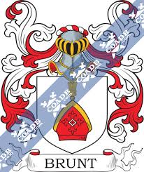 Brunt Family Crest, Coat of Arms and Name History