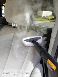 how to steam clean your car clean car