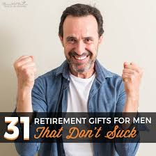 31 retirement gifts for men that don