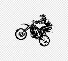 Sticker Motorcycle Wall Decal Motocross Supercross Racing Custom Motorcycle Png Pngegg