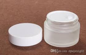 50ml 50g frost glass cream jar with