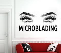 Eyelash Decals Wall Decal Window Sticker Beauty Salon Woman Etsy Eyelash Decal Window Stickers Wall Decals