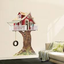 Clubhouse Tree House Wall Decal Wallpaper Mural Allposters Com