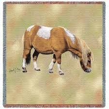 shetland pony woven throw horse gifts nz