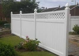 Plastic Fences High Quality Maintenance Free Upvc Plastic Fencing