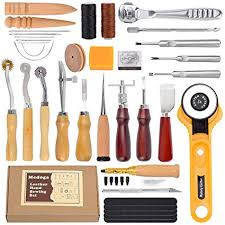 37pcs leather craft tools leather