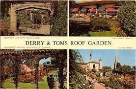 kensington roof gardens the roof