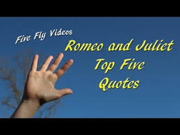 romeo and juliet quotes top five quotations ⭐