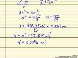 calculate metal density you