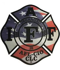 Amazon Com The 4 Iaff Union Patriot Flag 3m Reflective Vinyl Firefighter Us Made Window Decal Everything Else
