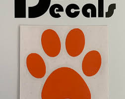 Large Paw Decals Etsy