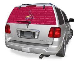 St Louis Cardinals Rear Window Graphic Custom Vinyl Graphics