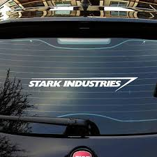 Stark Industries Logo Car Sticker Decals Pick Your Size 4 50 Picclick