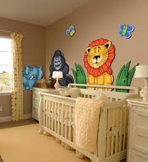 Large 3d Wall Stickers For Nursery Or Kids Room Jungle Animals Zoo Colorful Baby Boy Room Decor Baby Bedroom Kids Room Wall Decor