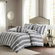 sea faux fur quilted tatami 4 piece