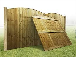 Fence Panels Heavy Duty Arched Vertilap Featheredge Fence Panel 6ft X 5ft 5ft 6