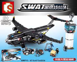 Sembo 102527 (NOT Lego SWAT Special Force Swat ) Xếp hình Máy Bay ...