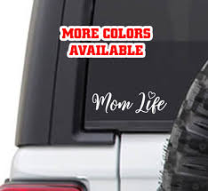 Mom Life Vinyl Sticker Decal Momlife Imomsohard Mile High Campers