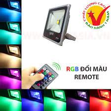Đèn Pha LED Đổi Màu RGB chống nước 10W ASIA Lighting