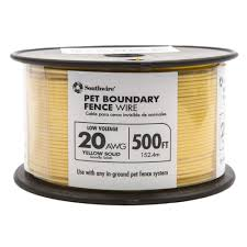 Southwire 500 Ft Boundary Fence Wire In The Underground Pet Fences Department At Lowes Com