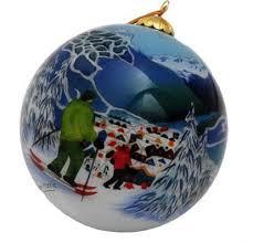 Glass Ornament - Whistler | Christmas bulbs, Glass ornaments, Christmas  ornaments