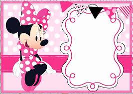 27 Minnie Mouse Invitation Template Online En 2020 Tarjeta De