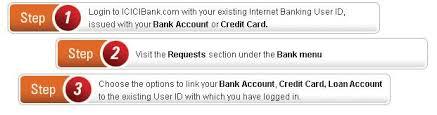 link bank accounts credit card