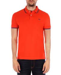 Harmont & Blaine polo arancio con righine - Sport Life Store
