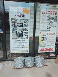 For Fencing Barbed Wire For Sale Crisbon Steel Construction Supply Facebook