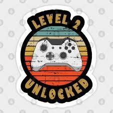 level 2 unlocked 2nd anniversary gift