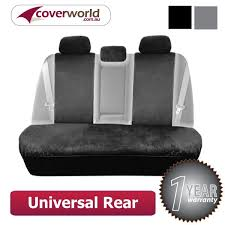 universal fit rear seat covers