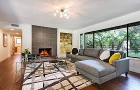 ranch style house unique interior