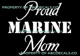 Vrs Military Support Proud Marine Mom Troops Family Car Decal Vinyl Sticker Ebay