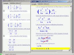 math equation solver with steps