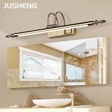 bathroom mirror lamp waterproof retro