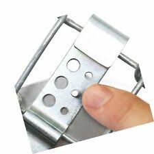 Smartsign Fence Clip 02attach A Sign To Chain Link Fence Kit Includes 2 F For Sale Online