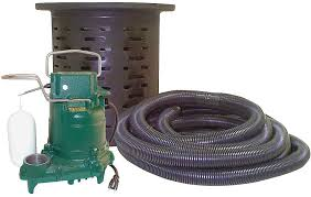 crawl space sump pump with kit