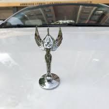 Chrome Metal Nymph Goddess Car Front Hood Ornament Emblem Badges Decal Sticker Ebay